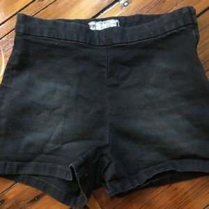 Black Free People shorts, cotton size 25
